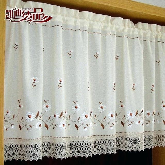 Coffee Kitchen Curtains – Mnkskin Pertaining To Embroidered 'coffee Cup' 5 Piece Kitchen Curtain Sets (View 11 of 25)