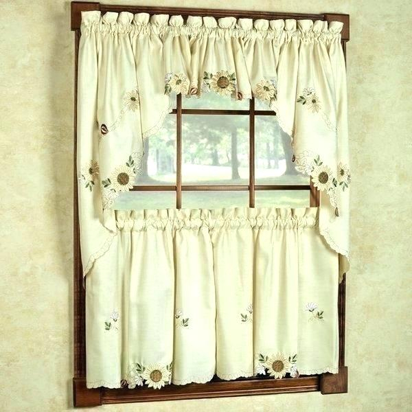 Coffee Kitchen Curtains – Mnkskin Pertaining To Embroidered 'coffee Cup' 5 Piece Kitchen Curtain Sets (View 5 of 25)