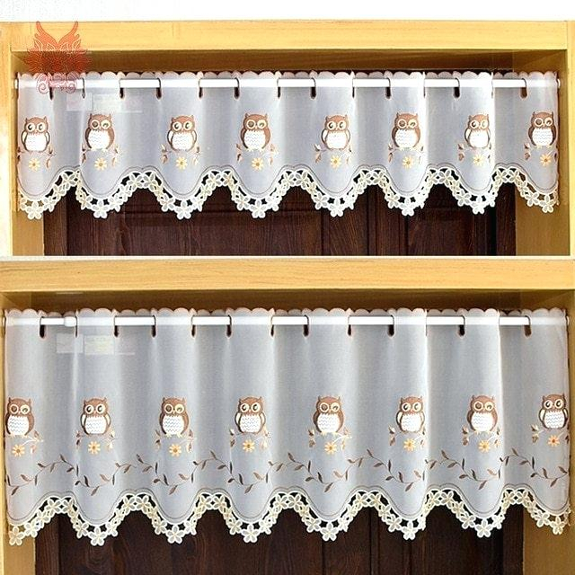 Coffee Kitchen Curtains – Mnkskin Regarding Embroidered 'Coffee Cup' 5 Piece Kitchen Curtain Sets (View 7 of 25)