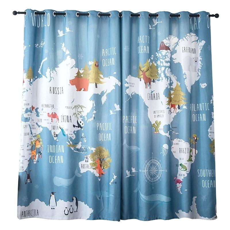 Colorful Window Curtains – Usach (View 3 of 25)