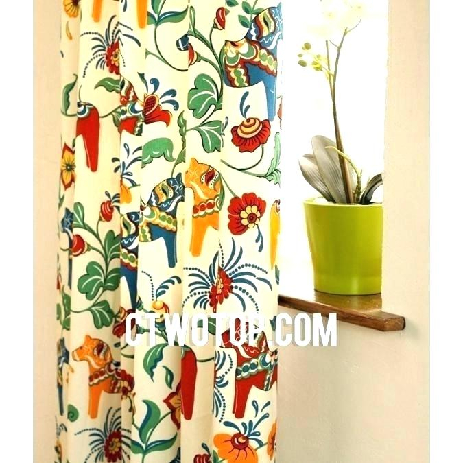 Colorful Window Curtains – Usach (View 4 of 25)