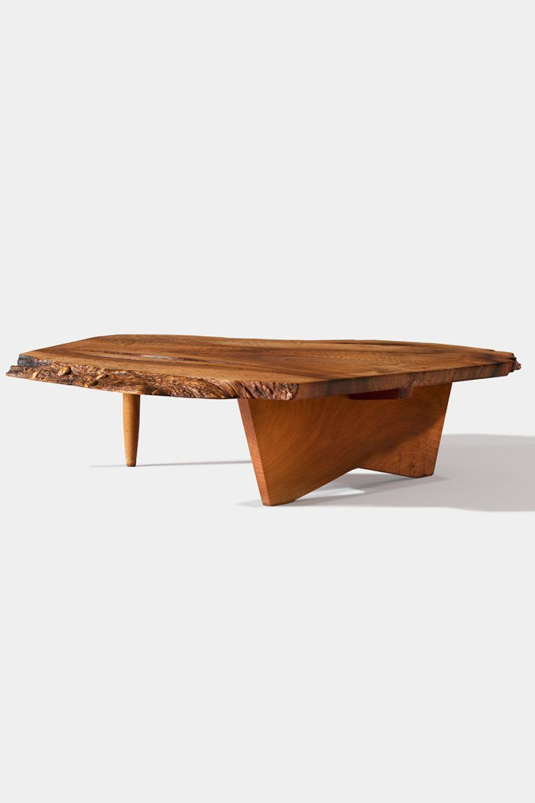 Conoid Coffee Table — George Nakashima Woodworkers | Design Pertaining To 2018 Shaw Dining Tables, English Brown (View 5 of 25)