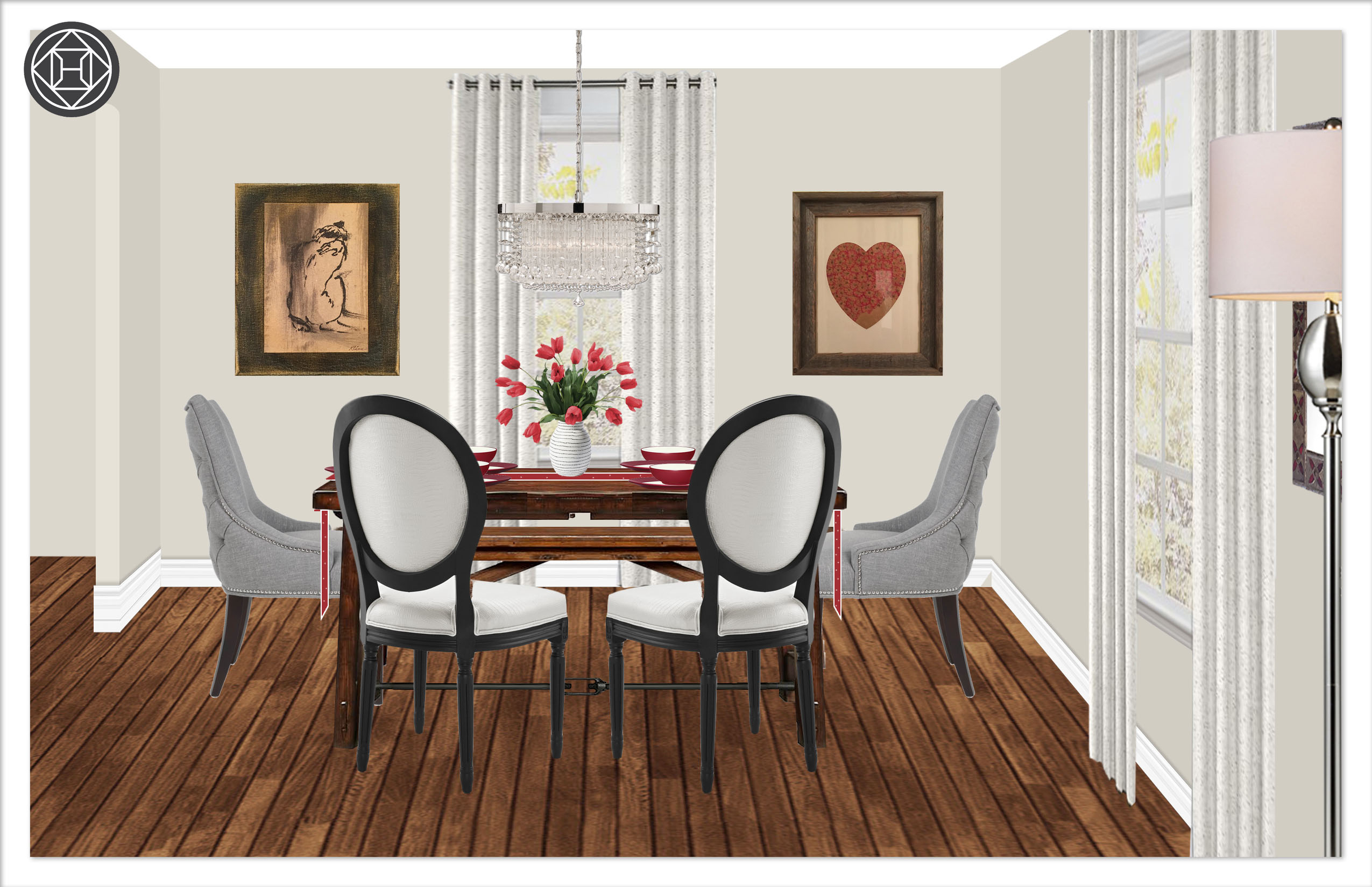 Contemporary, Classic, Eclectic, Rustic Dining Room Design Pertaining To Best And Newest Tuscan Chestnut Toscana Extending Dining Tables (View 21 of 25)