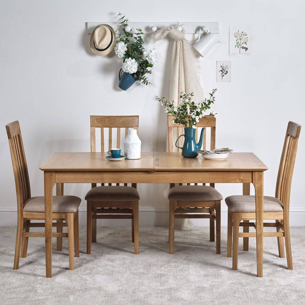 Contemporary Oak Dining Tables Mid Century Modern Solid Wood With Regard To Most Popular Chapman Marble Oval Dining Tables (View 14 of 25)