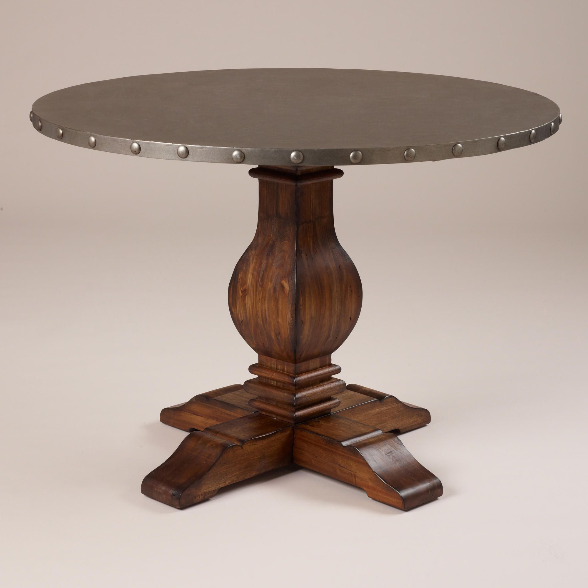 Cooper Round Dining Table | World Market (Sort Of Similar To With Regard To Most Popular Rae Round Pedestal Dining Tables (View 3 of 25)
