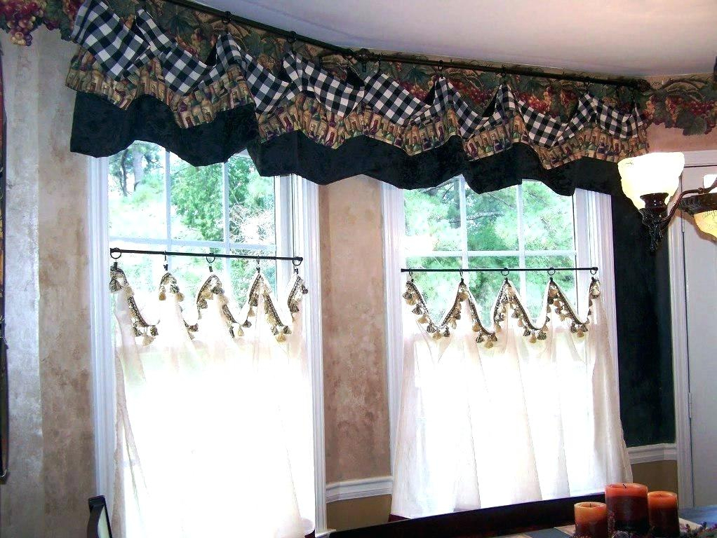 Country Curtains Lace Valance – Socialwear For French Vanilla Country Style Curtain Parts With White Daisy Lace Accent (Image 2 of 25)