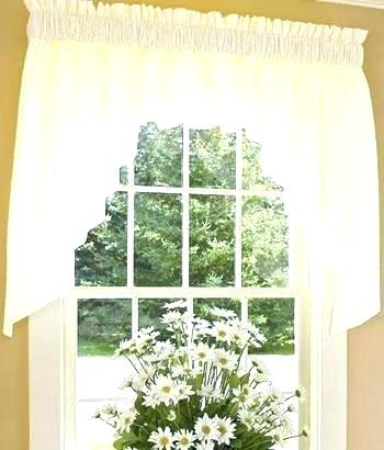 Country Curtains Lace Valance – Socialwear Regarding French Vanilla Country Style Curtain Parts With White Daisy Lace Accent (Image 4 of 25)