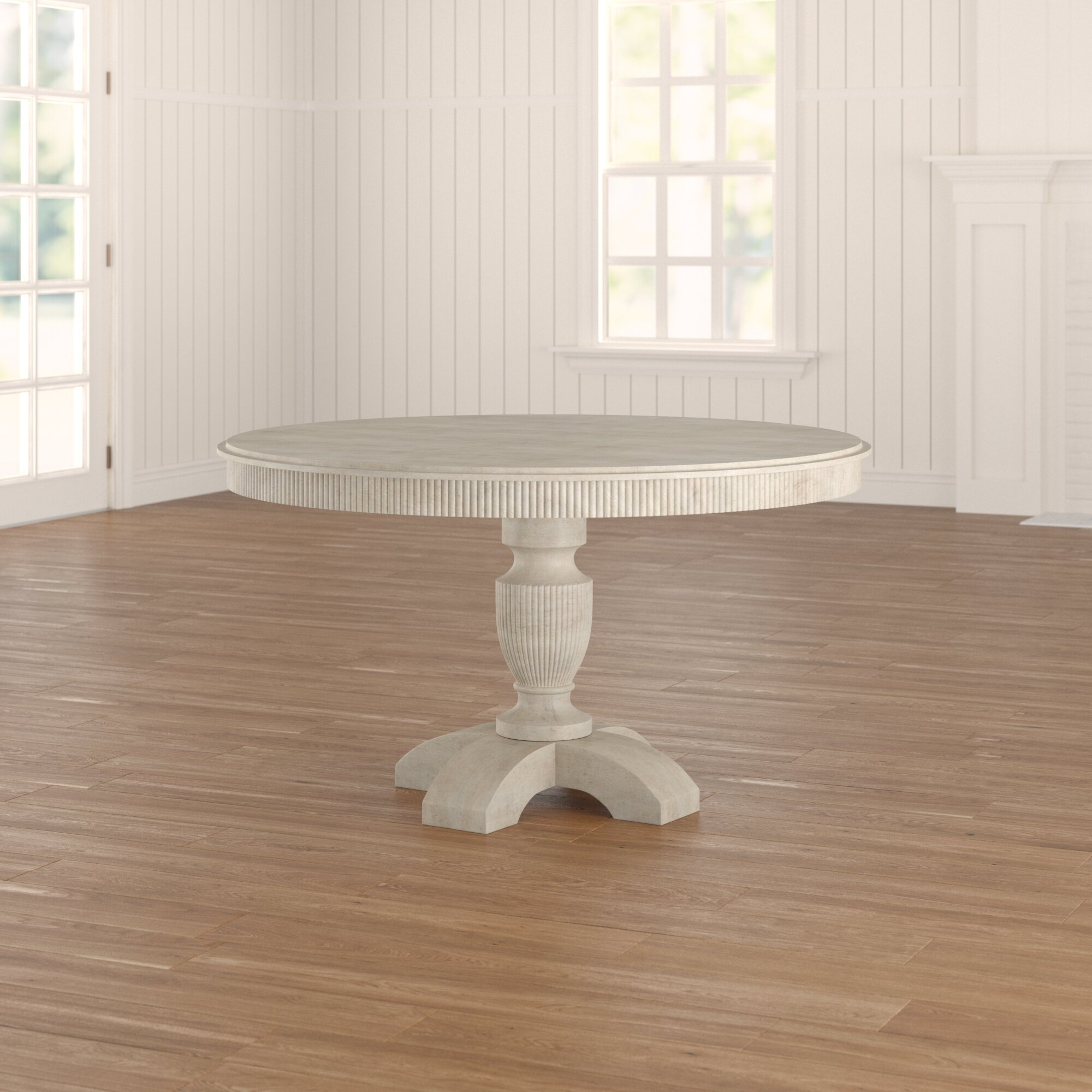 Coursey Round Dining Table Intended For Current Warner Round Pedestal Dining Tables (View 22 of 25)
