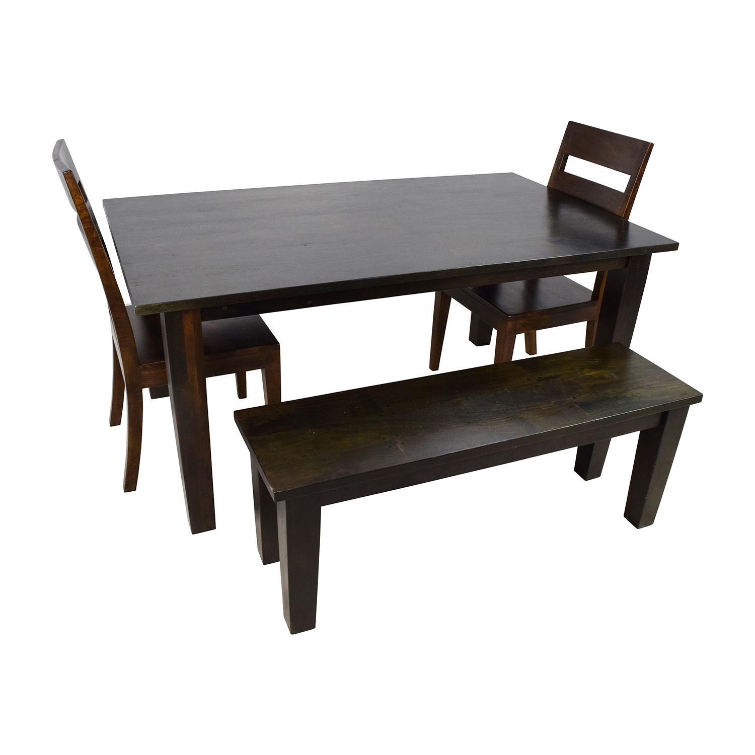 Crate And Barrel Kitchen Table And Chairs – Martinique Regarding 2017 Kipling Rectangular Dining Tables (Image 3 of 25)