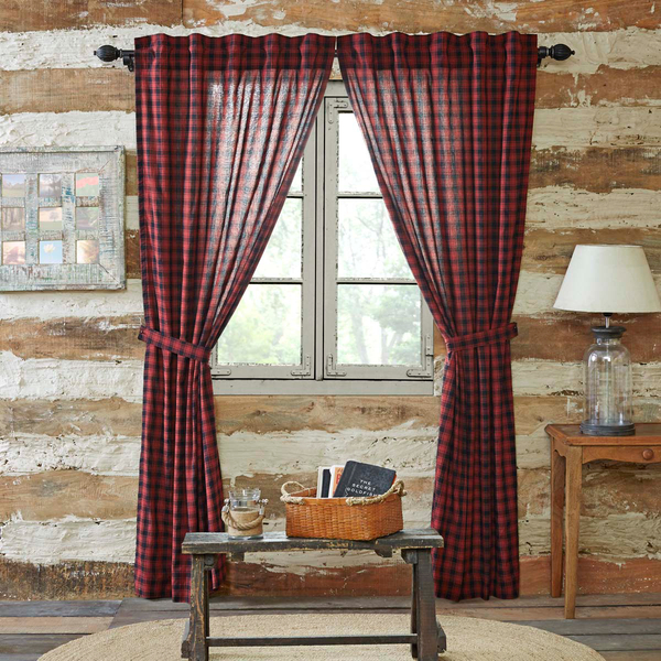 Cumberland Panel Lined Set Of 2 84X40 In 2019 | Rustic Pertaining To Cumberland Tier Pair Rod Pocket Cotton Buffalo Check Kitchen Curtains (View 5 of 25)