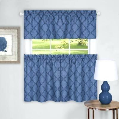 Curtain And Valance Set Throughout Scroll Leaf 3 Piece Curtain Tier And Valance Sets (View 14 of 25)