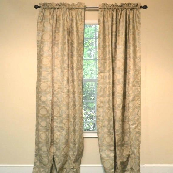 Curtain Medallions – Topcat (View 16 of 25)