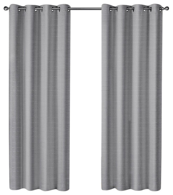 "Curtain Panel Pair, Set Of 2, Silver, 54""x84"" Intended For Dove Gray Curtain Tier Pairs (View 13 of 25)"