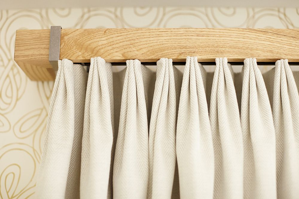 Curtain Rod/hardware | Diy Projects | Pinterest | Cortinas Inside La Vida Window Curtains (Image 6 of 25)