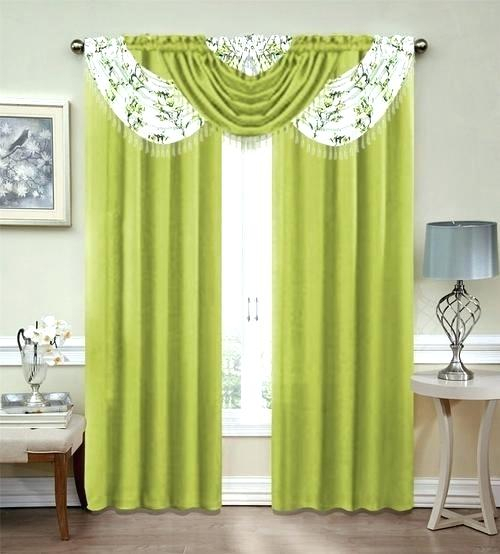 Curtain Sets Curtain Valance Set Curtain With Valance Set Inside Chocolate 5 Piece Curtain Tier And Swag Sets (View 23 of 25)