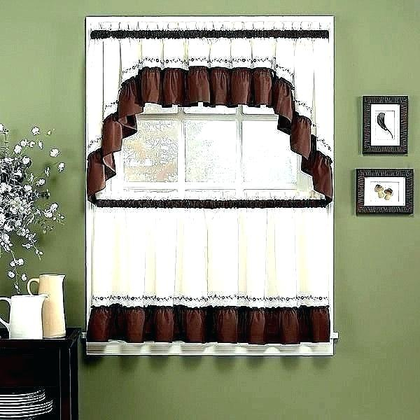 Curtain Sets With Valance – Mnkskin Inside Forest Valance And Tier Pair Curtains (View 20 of 25)