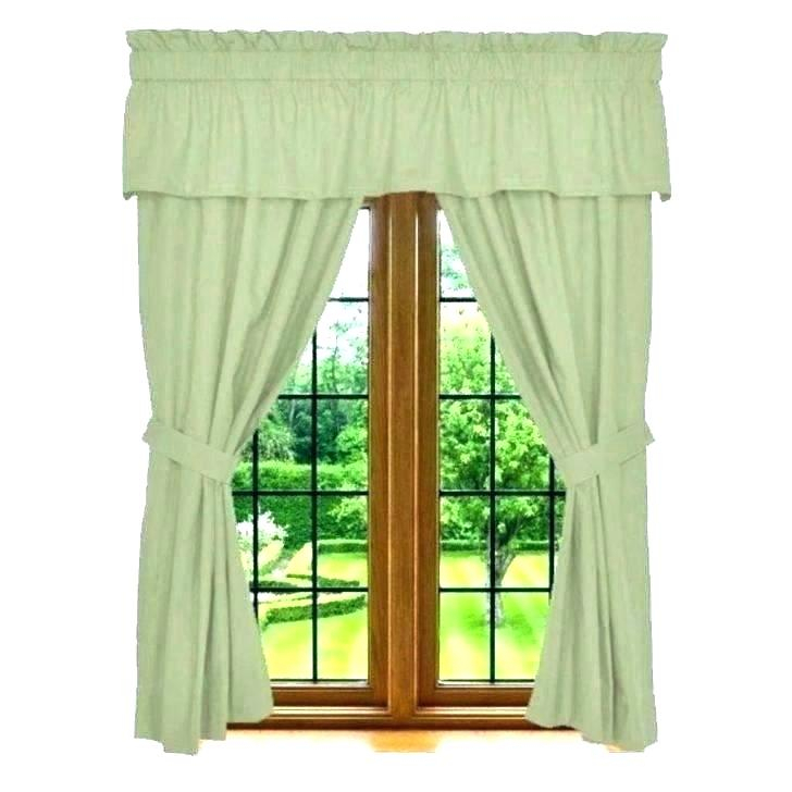 Curtain Sets With Valance – Mnkskin Throughout Chocolate 5 Piece Curtain Tier And Swag Sets (View 4 of 25)