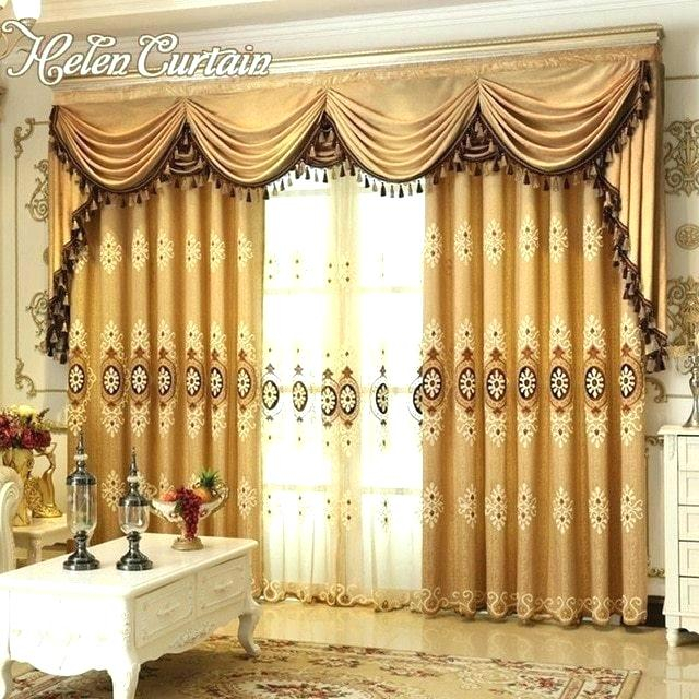 Curtain Sets With Valance – Mnkskin Throughout Luxury Collection Kitchen Tiers (View 8 of 25)