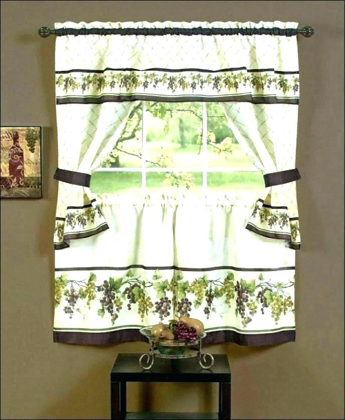 Curtain Sets With Valance – Mnkskin Within Forest Valance And Tier Pair Curtains (View 7 of 25)