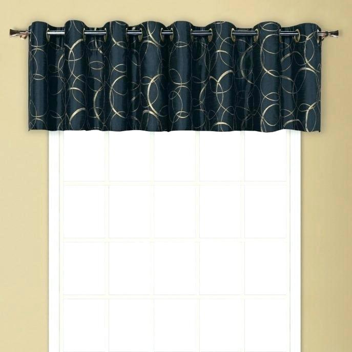 Curtain Sets With Valance – Onsaturn (View 4 of 25)