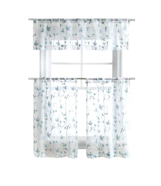 Curtain Tiers And Valances – Europeanschool For Floral Embroidered Sheer Kitchen Curtain Tiers, Swags And Valances (View 9 of 25)