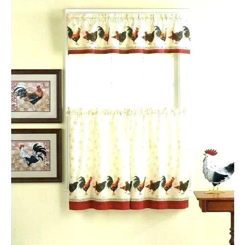 Curtain Tiers And Valances – Europeanschool For Floral Lace Rod Pocket Kitchen Curtain Valance And Tiers Sets (View 23 of 25)
