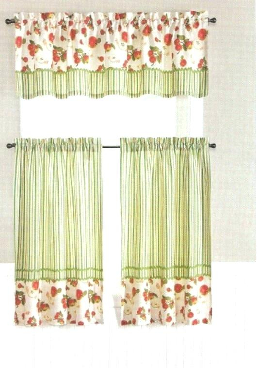 Curtain Tiers And Valances – Europeanschool For Serene Rod Pocket Kitchen Tier Sets (View 13 of 25)