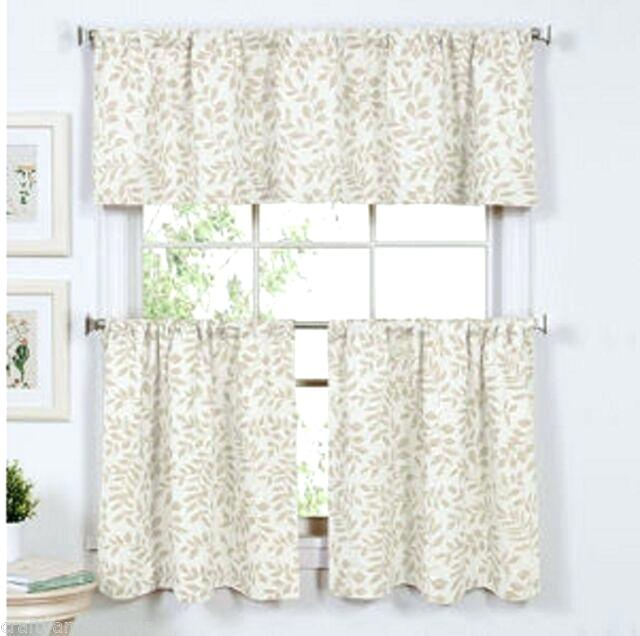 Curtain Tiers And Valances – Europeanschool Intended For Serene Rod Pocket Kitchen Tier Sets (View 4 of 25)