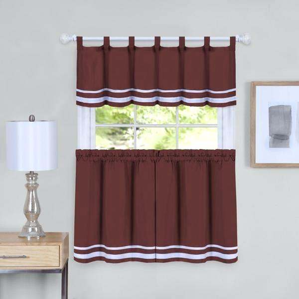 Curtain Tiers And Valances – Europeanschool Within Sunflower Cottage Kitchen Curtain Tier And Valance Sets (View 7 of 25)