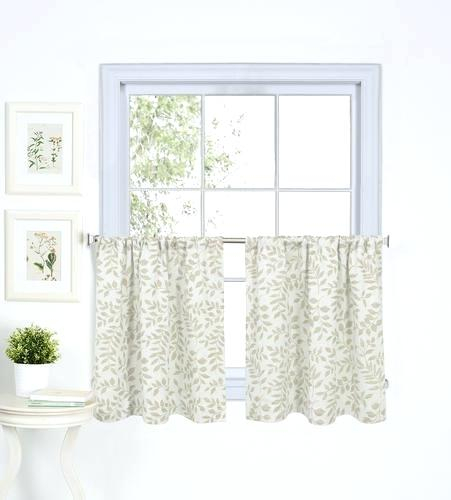 Curtain Tiers – Churubuscochamber Pertaining To Light Filtering Kitchen Tiers (View 20 of 25)