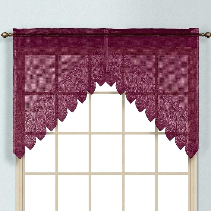 Curtain Valance Set – Birdclan (View 16 of 25)