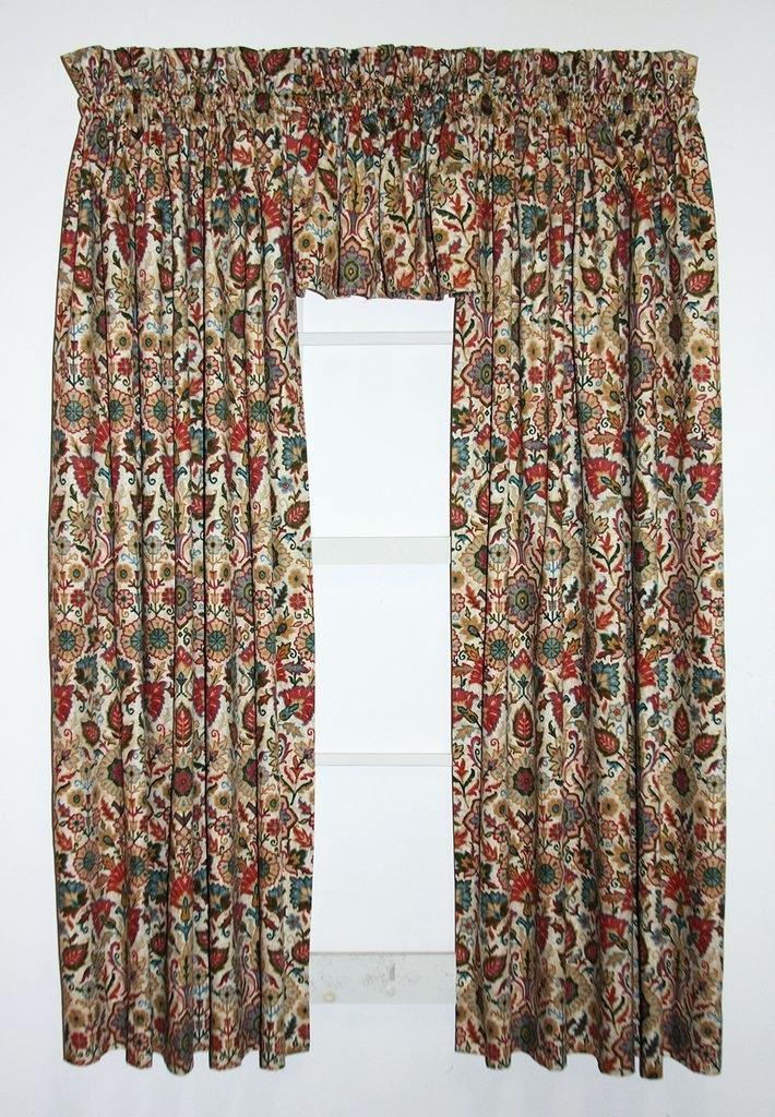 Curtain Valance Set – Bombona (View 12 of 25)