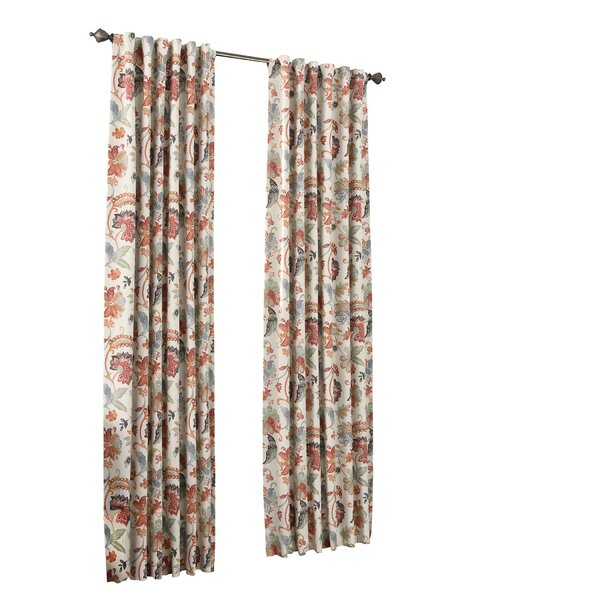 Curtains & Drapes For Vintage Sea Shore All Over Printed Window Curtains (Image 13 of 25)
