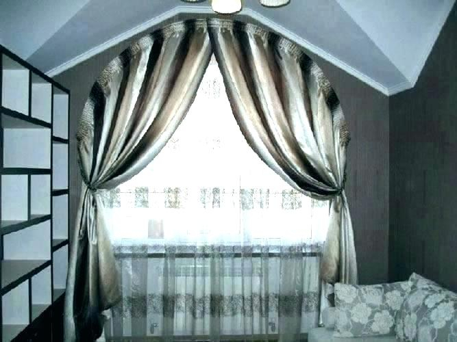 Curtains For Half Moon Shaped Windows Circle Window With Regard To Circle Curtain Valances (View 8 of 25)