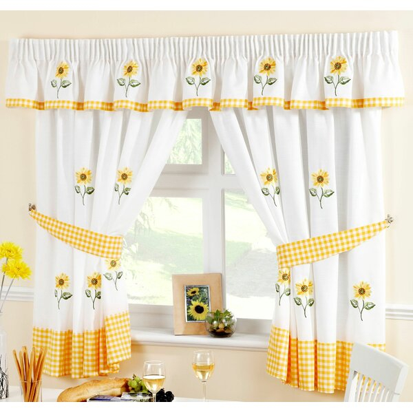 Curtains For Kitchen | Wayfair.co (View 20 of 25)