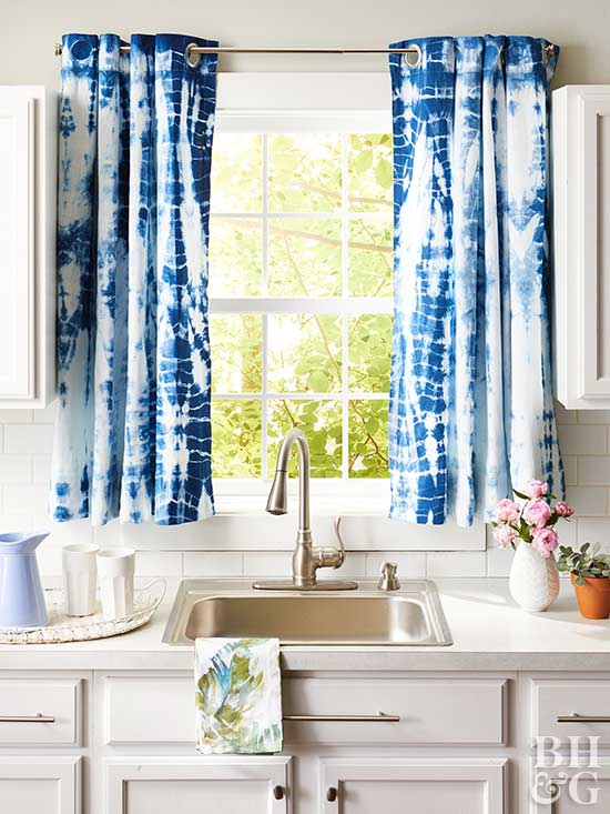Curtains For Kitchen Window – Phandong In Pintuck Kitchen Window Tiers (View 23 of 25)