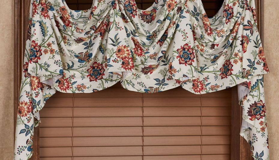 Curtains Scoop Valances Curtain Room Valance Inspiring Within Floral Pattern Window Valances (View 20 of 25)
