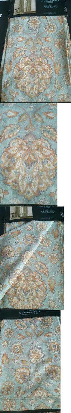 Cynthia Rowley Window Curtains Drapes And Valances Pair Of Pertaining To Rowley Birds Valances (View 25 of 25)