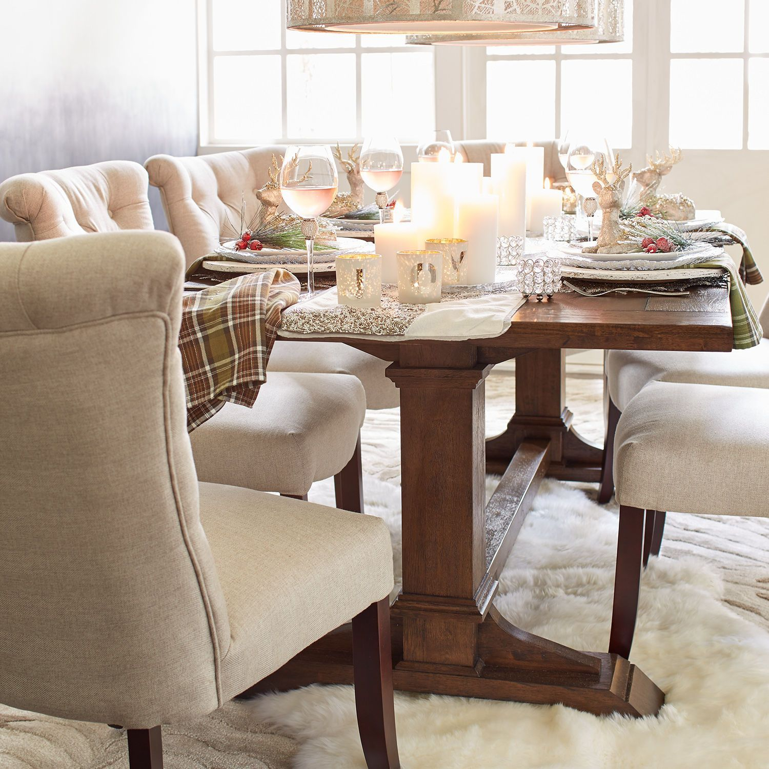 Dawson Walnut Brown Dining Tables | Dining Table, Dining Throughout 2017 Dawson Pedestal Dining Tables (Image 7 of 25)