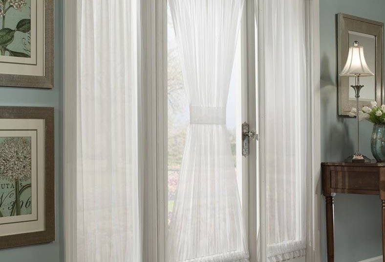 Delectable Crushed Voile Rod Pocket Side Light Window For Elegant Crushed Voile Ruffle Window Curtain Pieces (View 14 of 25)