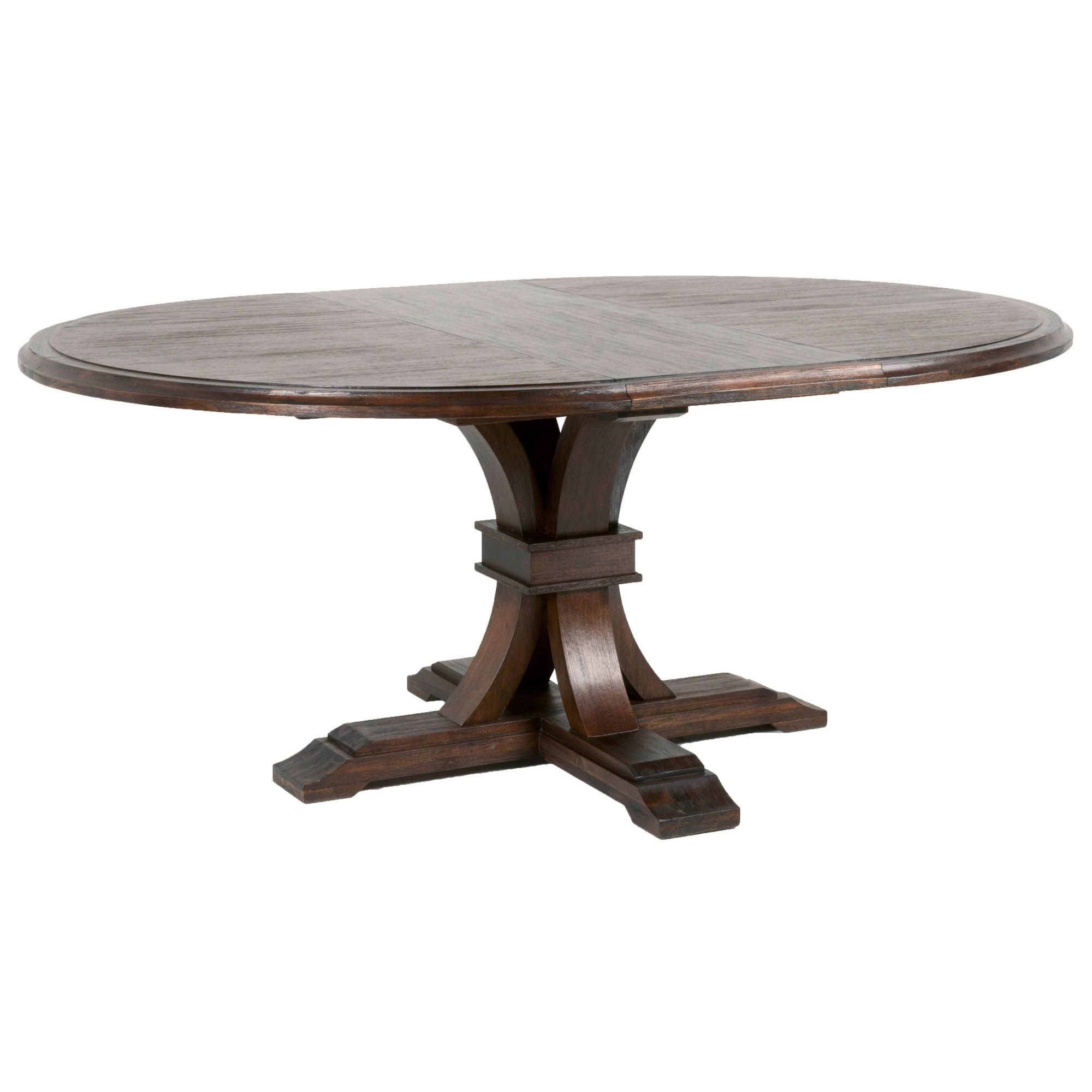 """Devon 54"""" Round Extension Dining Table 