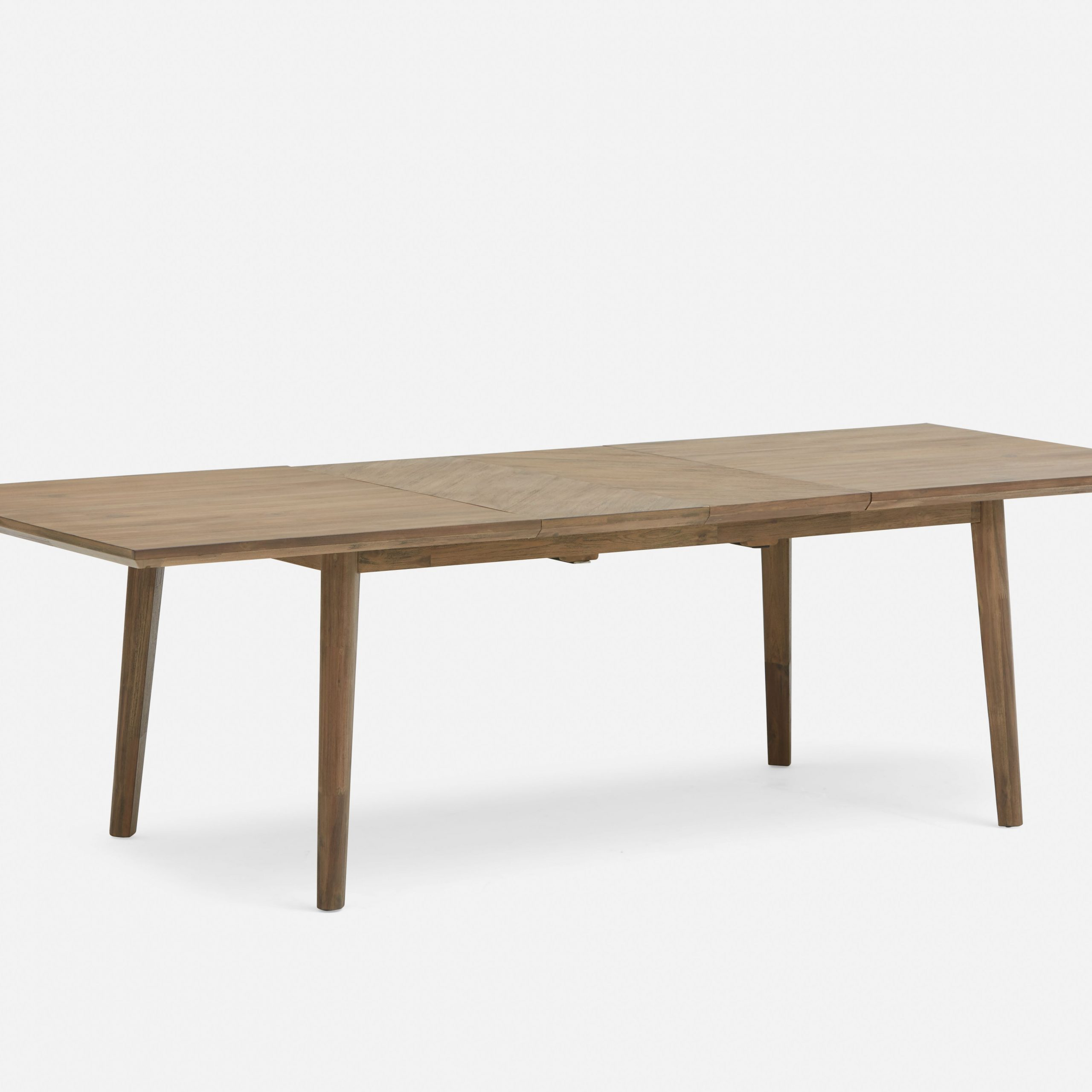 Dina Brown Extendable Acacia Wood Dining Table 180Cm To 260C For Best And Newest Shaw Dining Tables, English Brown (View 3 of 25)