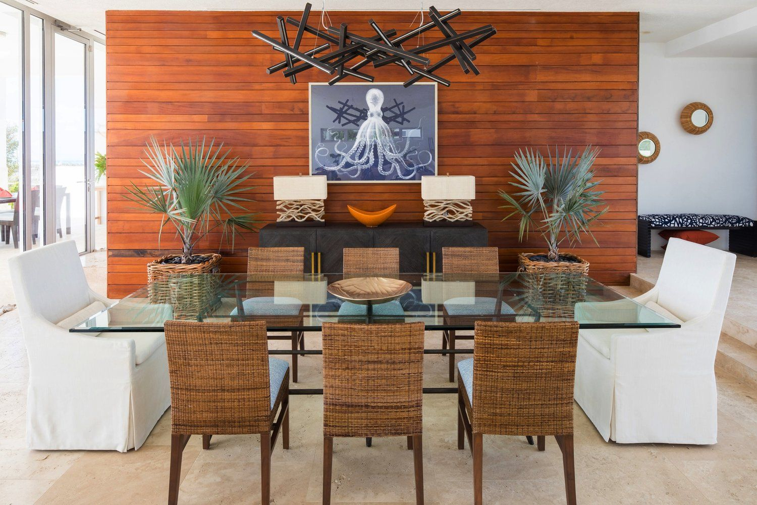 Dining Room : Alexis Parent Interiors : Champagne Shores With Newest Bismark Dining Tables (View 11 of 25)