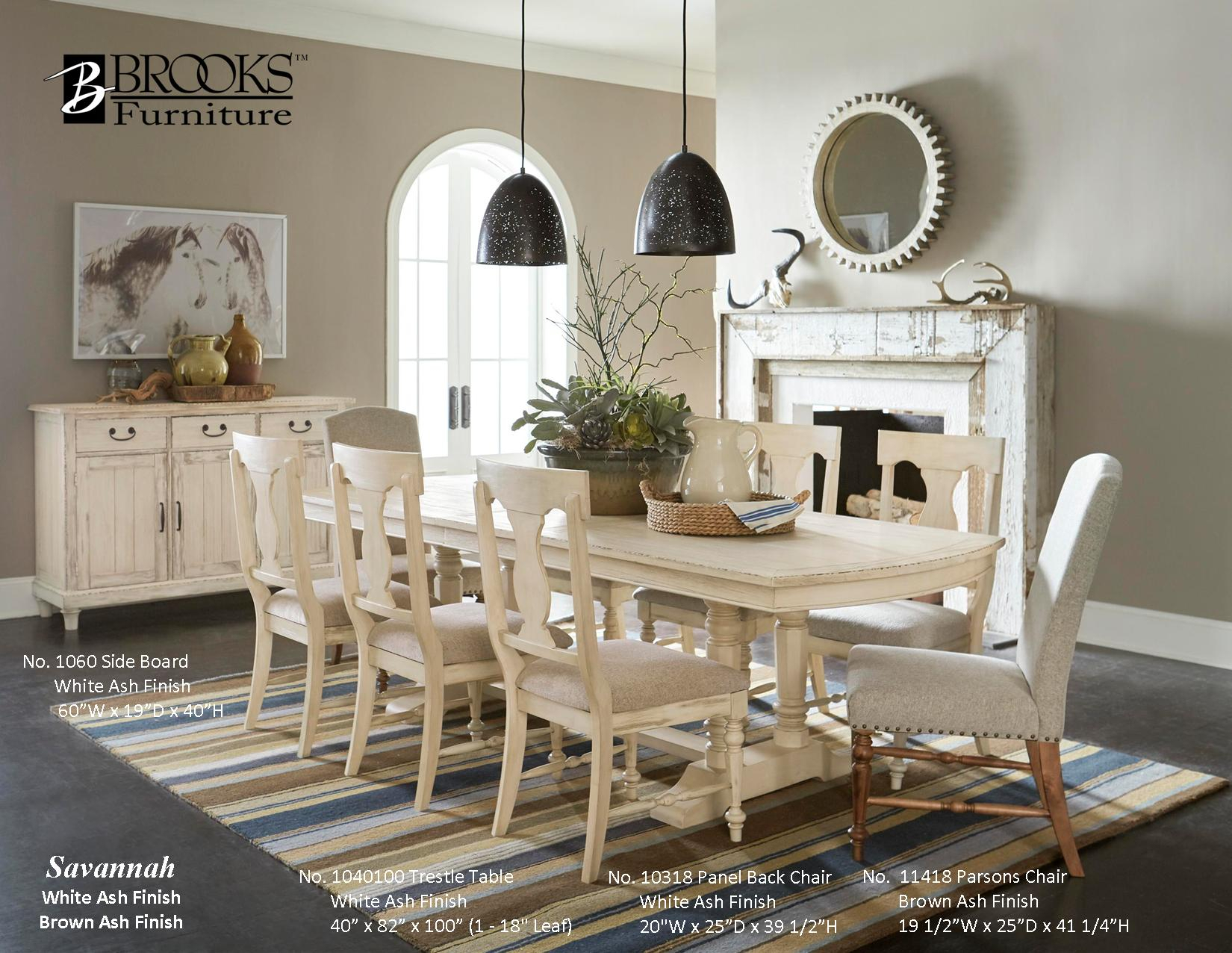 Dining Room – Brooks Furniture With Regard To Most Popular Brooks Round Dining Tables (View 19 of 25)