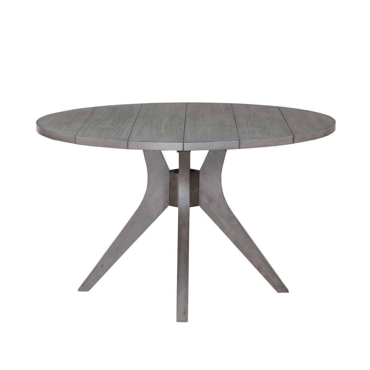 Dining Room : Scenic Grey Circular Dining Table Appealing Pertaining To 2018 Brooks Round Dining Tables (View 24 of 25)