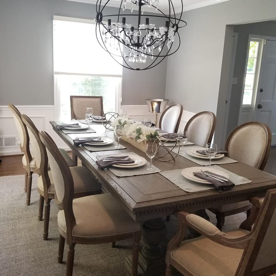 Dining Room! St James Table From Restoration Hardware With Regarding Latest Gray Wash Lorraine Extending Dining Tables (View 4 of 25)