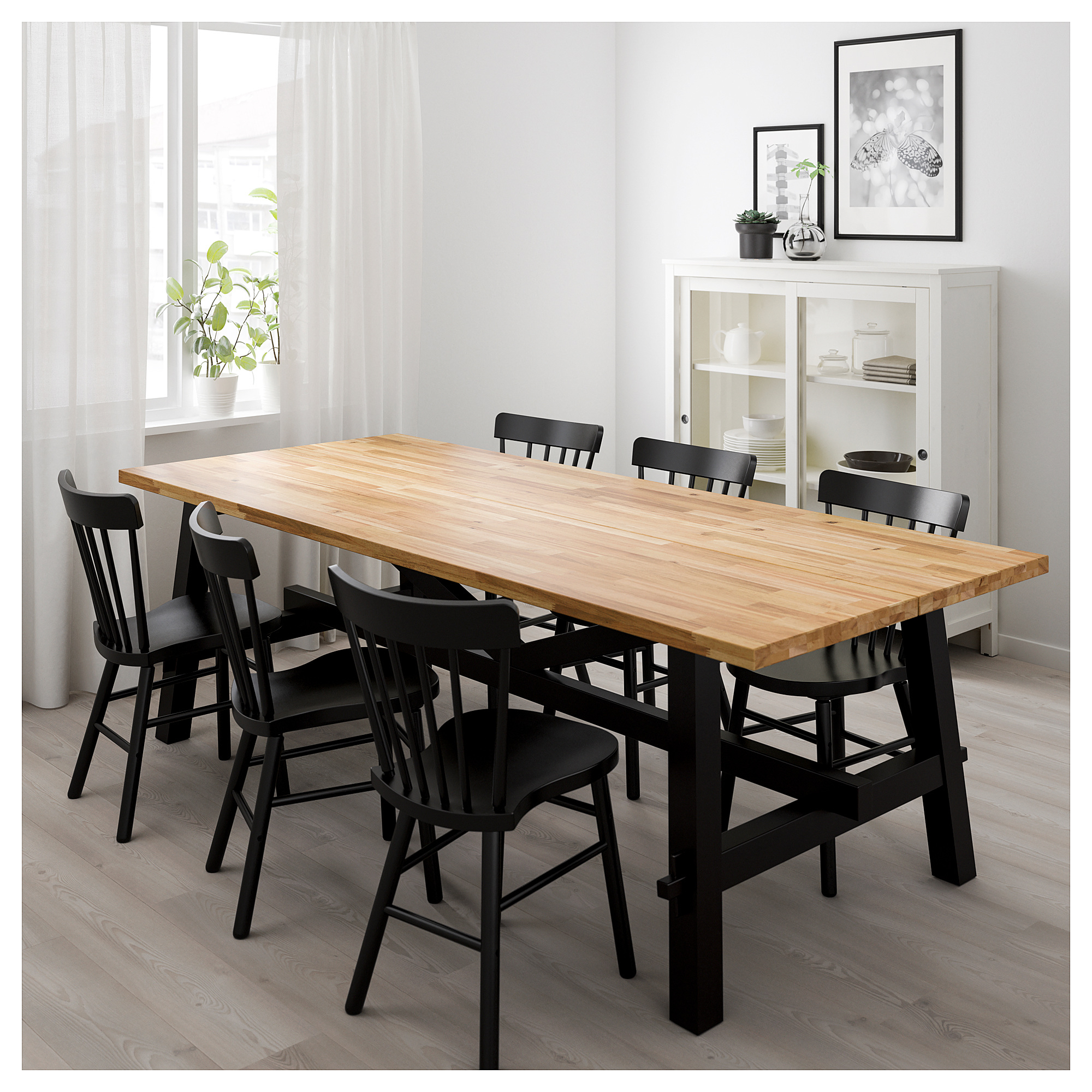"""Dining Table, Acacia, 92 1/2X39 3/8 """" In 2019 