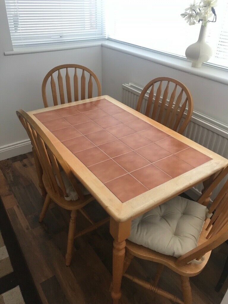 Dining Table And Chairs   In Sunderland, Tyne And Wear   Gumtree Within Most Current Faye Extending Dining Tables (View 8 of 25)