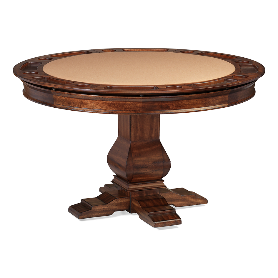 Dining Tables: Amerigo With Most Popular Aztec Round Pedestal Dining Tables (View 24 of 25)