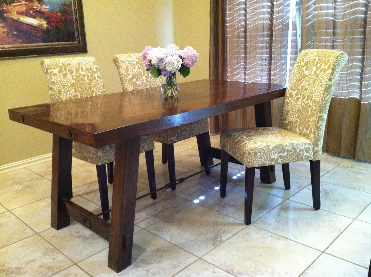 Diy Pottery Barn Toscana Table – Easy Craft Ideas Within Most Popular Seadrift Benchwright Extending Dining Tables (View 10 of 25)